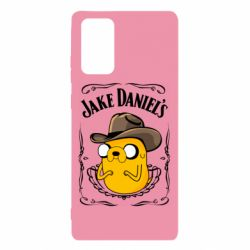 Чохол для Samsung Note 20 Jack Daniels Adventure Time