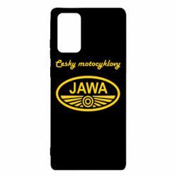 Чохол для Samsung Note 20 Java Cesky Motocyclovy