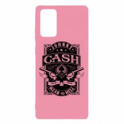 Чохол для Samsung Note 20 Johnny cash mean as hell