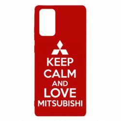 Чохол для Samsung Note 20 Keep calm an love mitsubishi