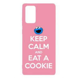 Чехол для Samsung Note 20 Keep Calm and Eat a cookie