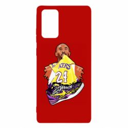 Чехол для Samsung Note 20 Kobe Bryant and sneakers