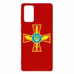 Чехол для Samsung Note 20 Крест з мечем та гербом