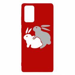 Чохол для Samsung Note 20 Кролики