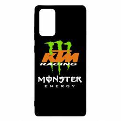 Чехол для Samsung Note 20 KTM Monster Enegry