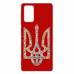 Чехол для Samsung Note 20 Квітучий герб України