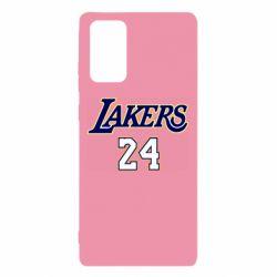 Чехол для Samsung Note 20 Lakers 24