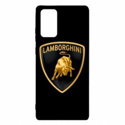 Чохол для Samsung Note 20 Lamborghini Logo