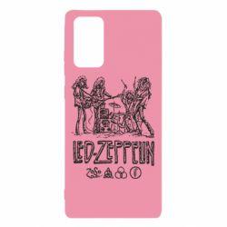 Чехол для Samsung Note 20 Led-Zeppelin Art