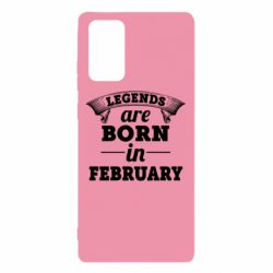 Чехол для Samsung Note 20 Legends are born in February