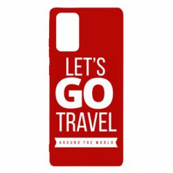Чохол для Samsung Note 20 Let's go travel around the world