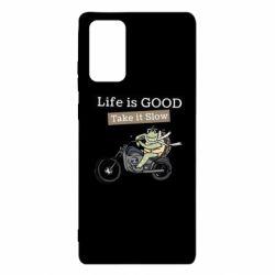 Чохол для Samsung Note 20 Life is good, take it show