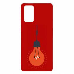 Чехол для Samsung Note 20 Light bulb vector