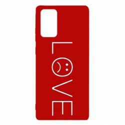 Чохол для Samsung Note 20 lil peep: love