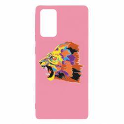 Чехол для Samsung Note 20 Lion multicolor