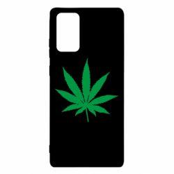 Чохол для Samsung Note 20 Листочок марихуани