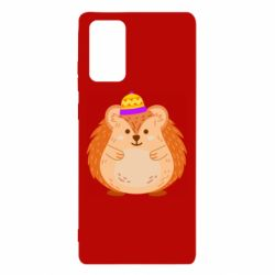 Чохол для Samsung Note 20 Little hedgehog in a hat