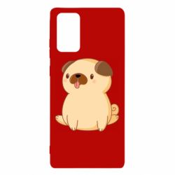 Чехол для Samsung Note 20 Little pug