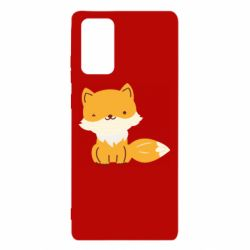 Чехол для Samsung Note 20 Little red fox