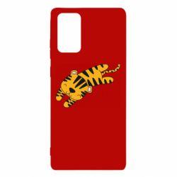 Чехол для Samsung Note 20 Little striped tiger