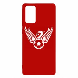 Чехол для Samsung Note 20 Liverpool and soccer ball