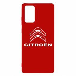 Чехол для Samsung Note 20 Логотип Citroen