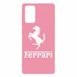 Чехол для Samsung Note 20 логотип Ferrari