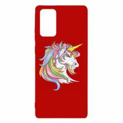 Чохол для Samsung Note 20 Кінь з кольоровою гривою