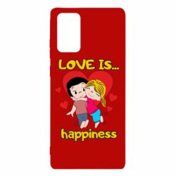 Чохол для Samsung Note 20 love is...happyness
