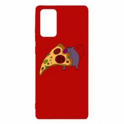 Чехол для Samsung Note 20 Love Pizza 2