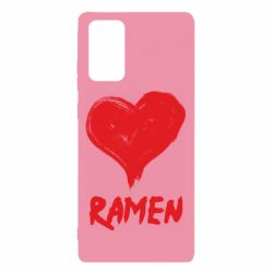 Чохол для Samsung Note 20 Love ramen