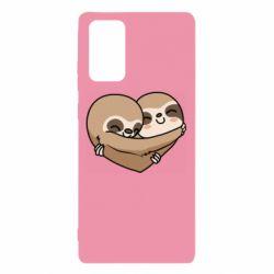 Чохол для Samsung Note 20 Love sloths