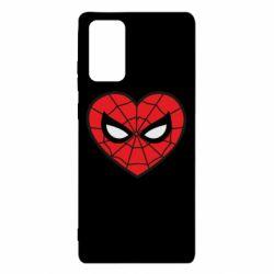 Чохол для Samsung Note 20 Love spider man