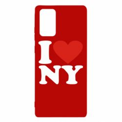 Чохол для Samsung Note 20 Люблю Нью Йорк