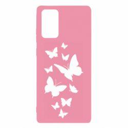 Чохол для Samsung Note 20 Many butterflies
