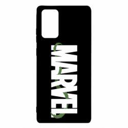 Чехол для Samsung Note 20 Marvel logo and vine