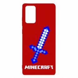 Чехол для Samsung Note 20 Меч Minecraft