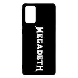 Чехол для Samsung Note 20 Megadeth
