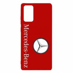 Чехол для Samsung Note 20 Mercedes-Benz Logo