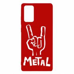 Чехол для Samsung Note 20 Metal