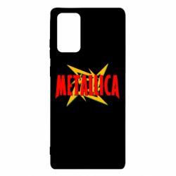 Чохол для Samsung Note 20 Логотип Metallica
