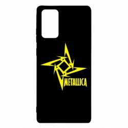 Чехол для Samsung Note 20 Metallica Logotype
