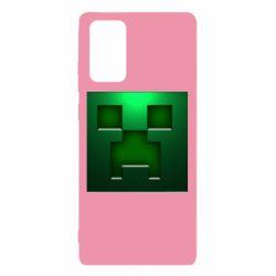 Чехол для Samsung Note 20 Minecraft Face