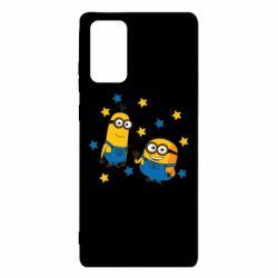 Чохол для Samsung Note 20 Minions and stars