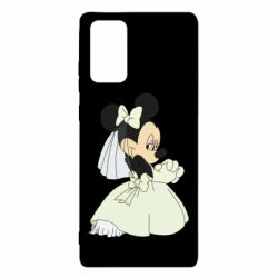 Чехол для Samsung Note 20 Minnie Mouse Bride