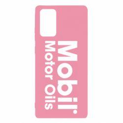 Чехол для Samsung Note 20 Mobil Motor Oils