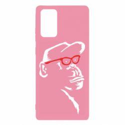 Чохол для Samsung Note 20 Monkey in red glasses