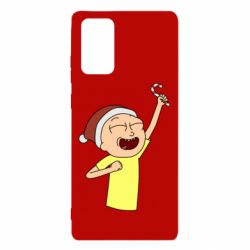 Чехол для Samsung Note 20 Morty with Christmas candy