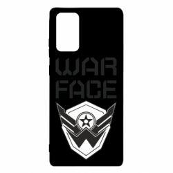 Чохол для Samsung Note 20 Напис Warface
