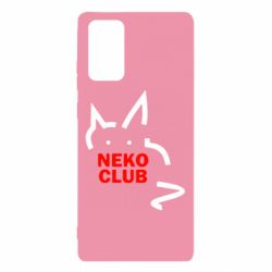 Чохол для Samsung Note 20 Neko Club